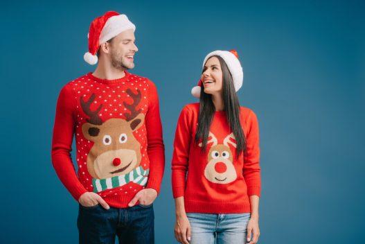 Par i julebluser